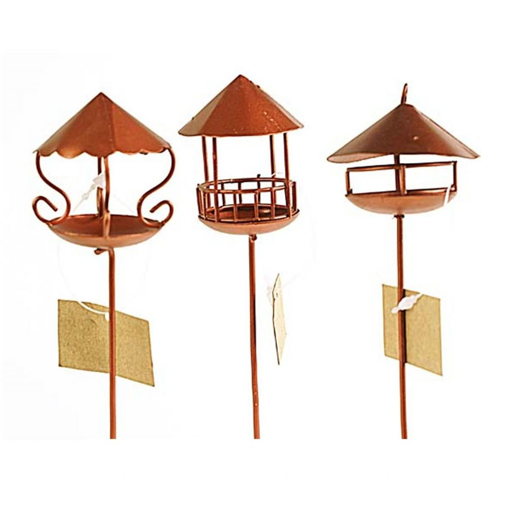 Fiddlehead Fairy House Fairy Home Fairy Garden Miniature Bird Feeder Birdfeeders Set 16408